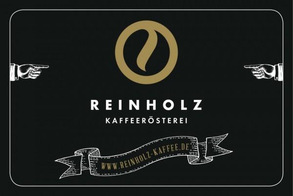 Reinholz Kaffee Gutschein 10 €