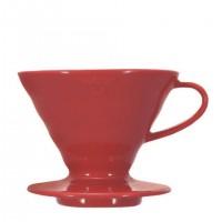 Porzellanfilter Hario V60 02 Ceramic red