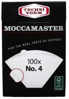 Moccamaster Kaffeefilter No 4 100 Stück