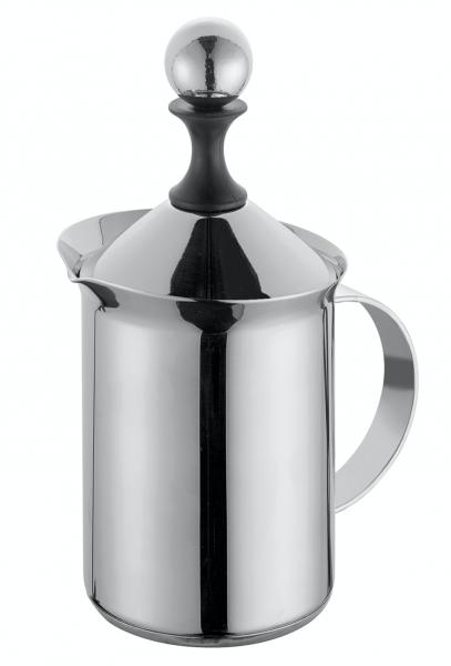 Reinholz Kaffeerösterei cilio Milchschäumer Edelstahl 3 Tassen