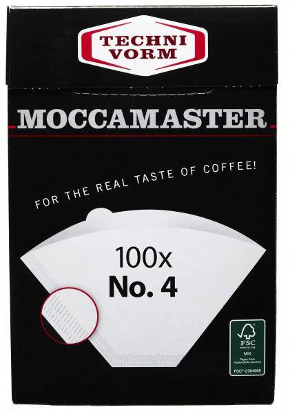 Moccamaster Kafeefilter No 4 100 Stück