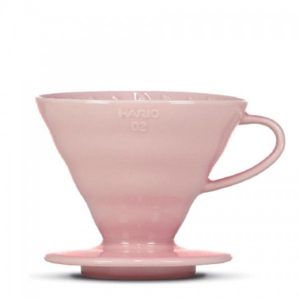 """Porzellanfilter Hario V60 02 """"Colour Edition"""" pink"""